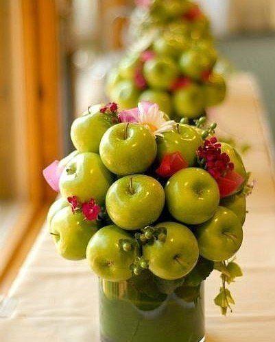 яблочки в декоре - фото 1524323 DY.Art - свадебное оформление