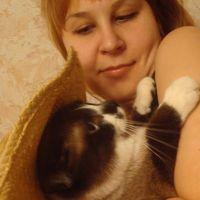 тренируюсь быть мамой... на кошках =)