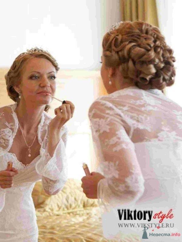 Фото 46188 в коллекции Свадебная прическа - Невеста01