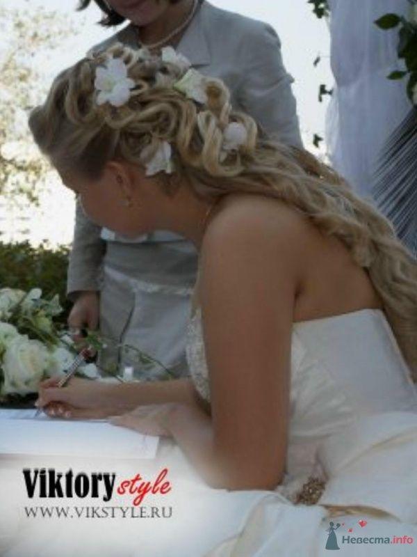 Фото 46190 в коллекции Свадебная прическа - Невеста01
