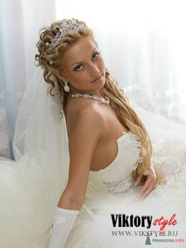 Фото 46192 в коллекции Прическа которая на многих сайтах - Невеста01