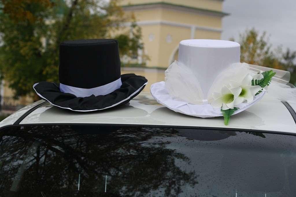 Как сделать шляпы для свадебной машины 119