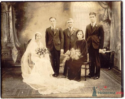 Фото 72966 в коллекции Ретро фото (свадьба) - ВаленТинка:)