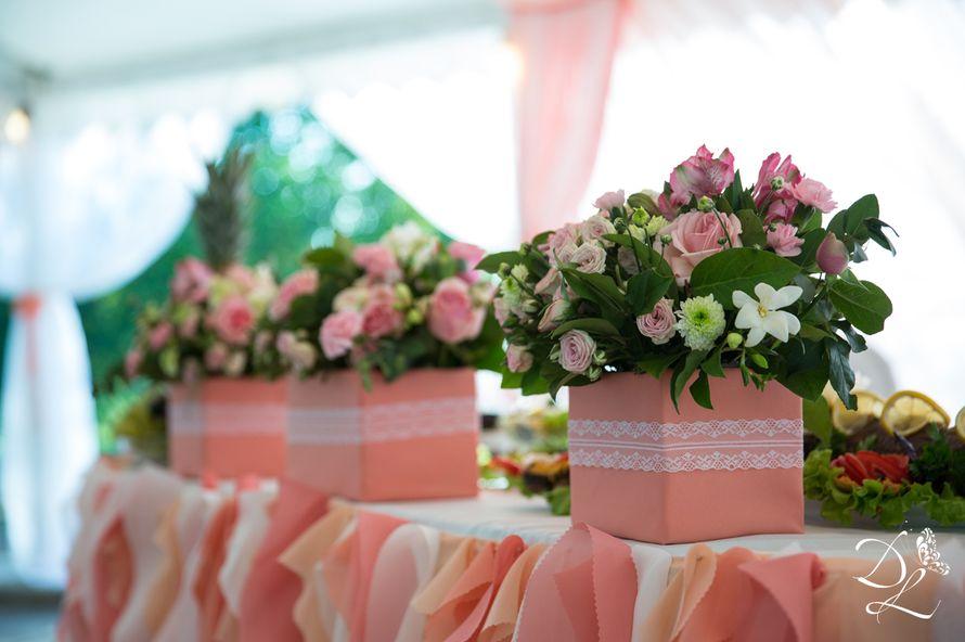 Фото 1354579 в коллекции Свадьба в персиковом цвете - Love Decor - свадебный декор