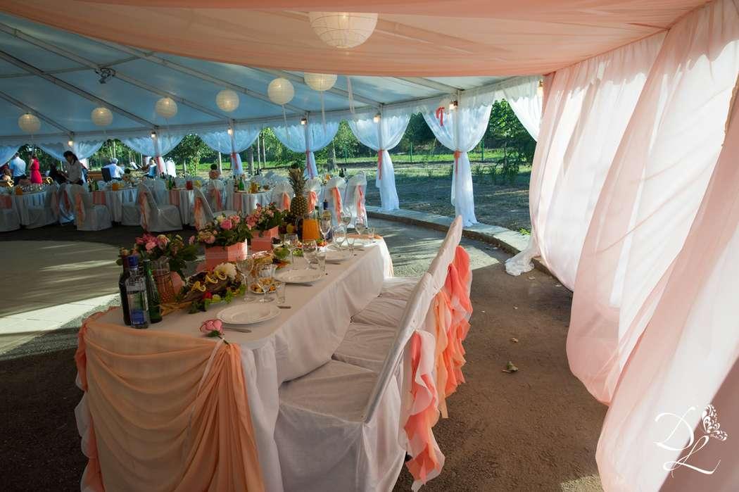 Фото 1354585 в коллекции Свадьба в персиковом цвете - Love Decor - свадебный декор