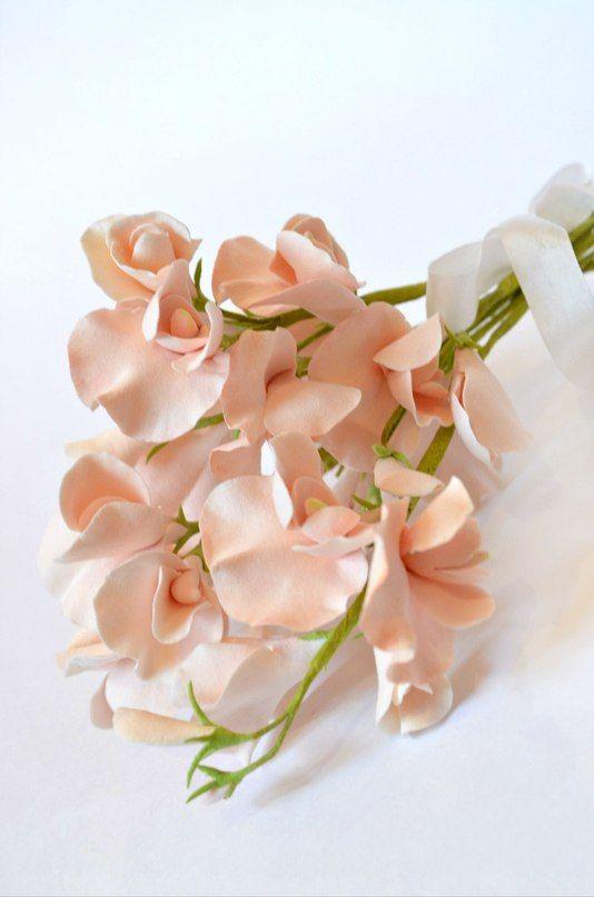 """Мини-букет из душистого горошка для подружек невесты. - фото 2520829 Ателье цветов """"Блюмен"""""""