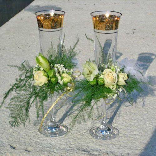 Фото 2587549 в коллекции свадебные бокалы - Цветочный магазинчик - услуги оформления