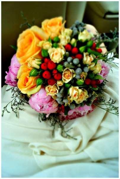 Фото 2587623 в коллекции букет невесты - Цветочный магазинчик - услуги оформления