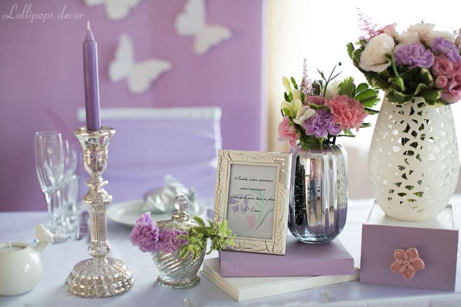 В рамочке цитата известной французской писательницы Франсуазы Саган: «Любовь – самая приятная, самая настоящая, самая правильная вещь на свете». - фото 1497769 Lollipops decor - оформление