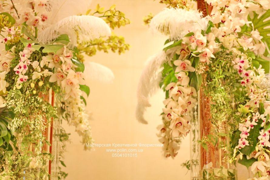 Фото 871201 в коллекции свадебное оформление зала,церемонии - Флорист Полина Школьникова