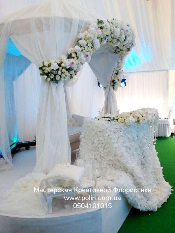 Фото 871231 в коллекции свадебное оформление зала,церемонии - Флорист Полина Школьникова