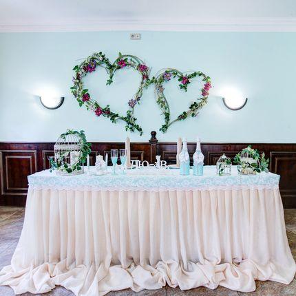 Банкет в зале Свадебный-каминный на 56 персон