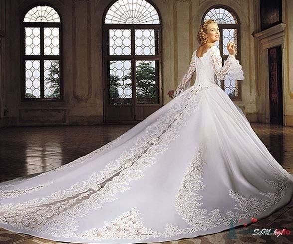 Фото 53806 в коллекции самые разные свадебные платья