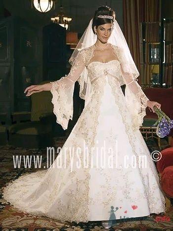 Фото 53809 в коллекции самые разные свадебные платья