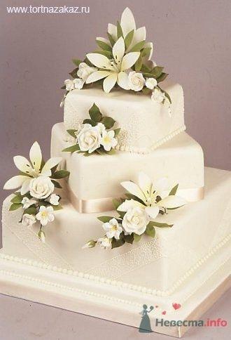 Фото 53835 в коллекции свадебные торты - Свадебный распорядитель Ольга Фокс