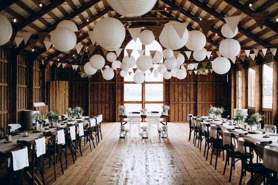 недорогое оформление свадьбы - фото 17085212 Амбар The Farm - банкетная площадка