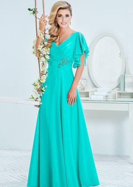 Вечернее платье на свадьбу с