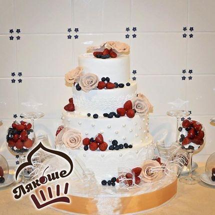Торт с ягодами, 7 кг