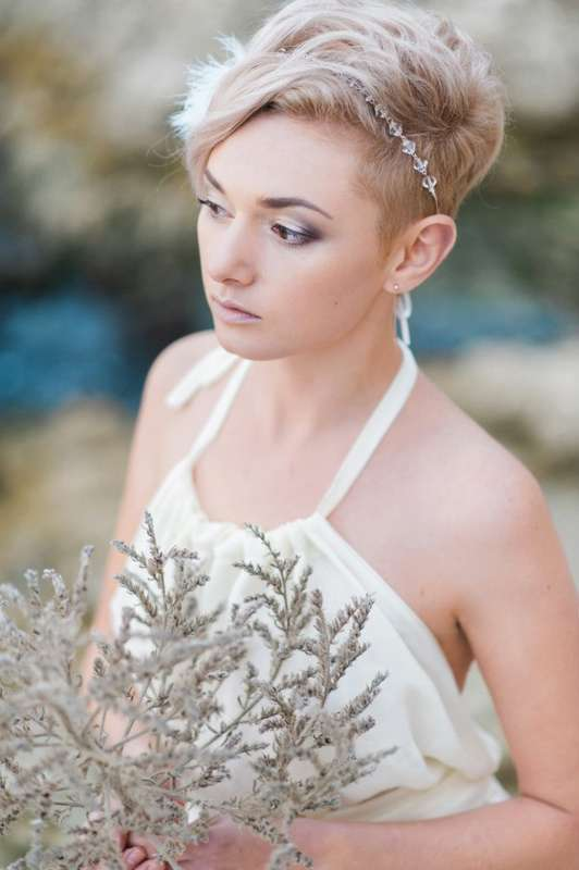 Моя работа - прическа, макияж, украшение для волос Фото - Катерина Куксова Стиль, образ - совместная работа команды - фото 17174962 Ольга Жбанкова