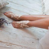 Украшение на ногу 1200 р. Подойдет для утра невесты, делает подъем ножки элегантным и женственным.