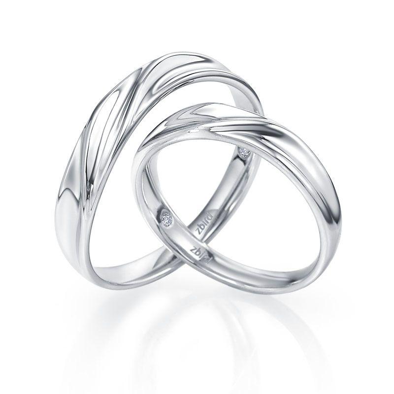 Классическое обручальное кольцо RA093W