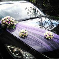 Оформление машины - комплект Фиолетовая нотка