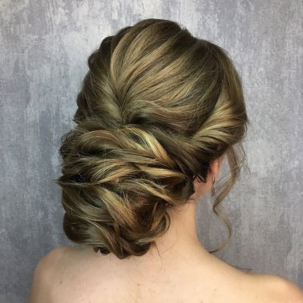 Свадебный образ (причёска и макияж )