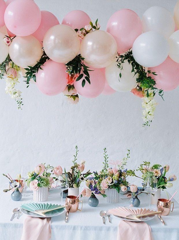 Фото 17357134 в коллекции Декор для свадьбы, девичника, фотосессии и др. - Pink Sky Balloons