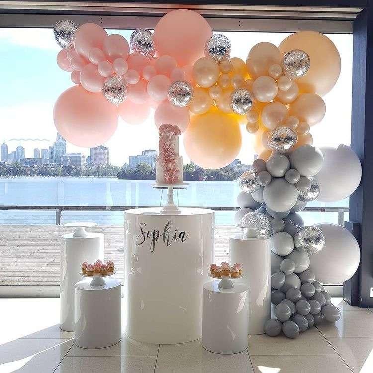 Фото 17357152 в коллекции Декор для свадьбы, девичника, фотосессии и др. - Pink Sky Balloons
