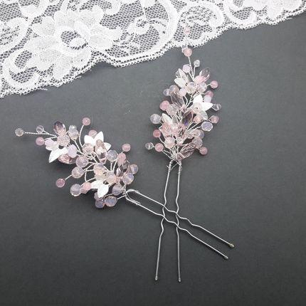 Шпильки в причёску невесты