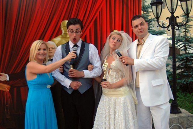 """Фото 17364044 в коллекции Свадьба в стиле """"Оскар"""" - Ведущий Саша Апельсин"""