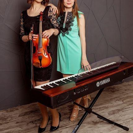 Выступление двух музыкантов