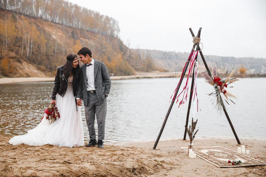 """Декор свадебной фотосессии под ключ """"Бохо"""""""