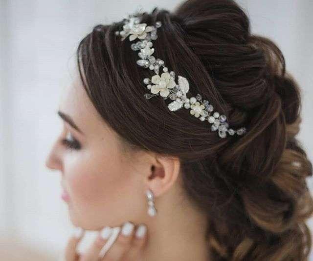 Свадебный веночек для невесты 2100 руб. - фото 17549098 Екатерина Захарова - украшения для волос