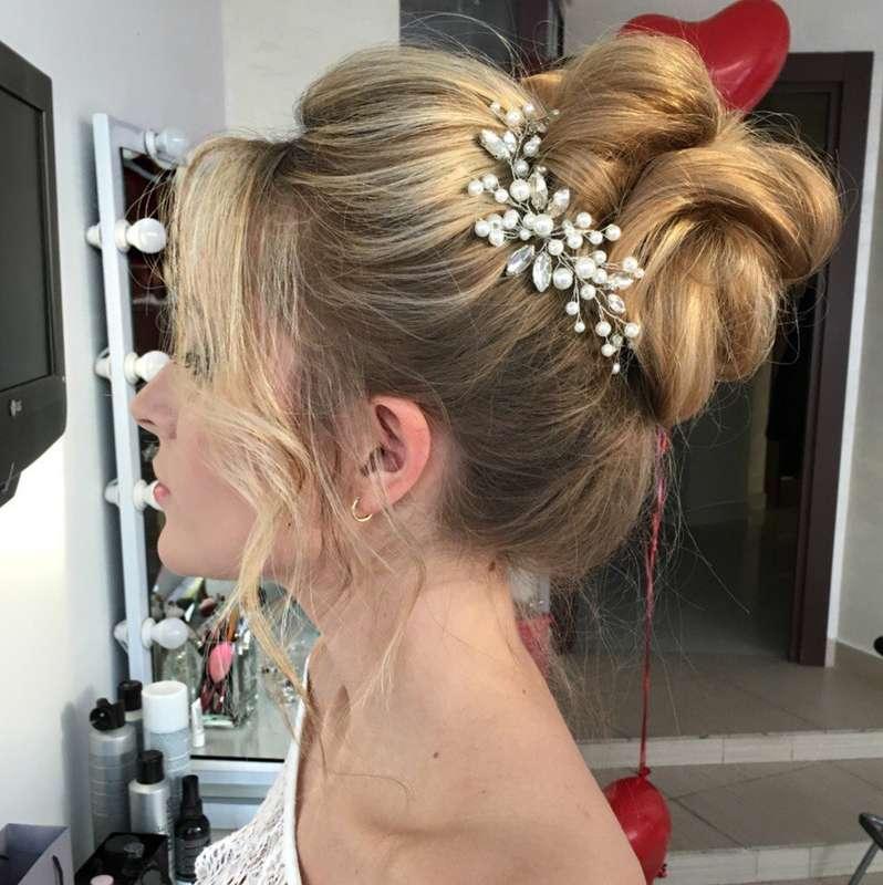свадебное украшение ля головы 1000 руб. - фото 17549128 Екатерина Захарова - украшения для волос