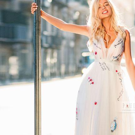 """Платье """"Лос-Анджелес"""", размер 44, цвет молоко"""