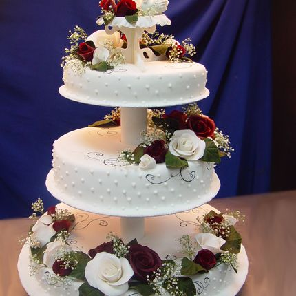"Торт ""Розы"", 1 кг"