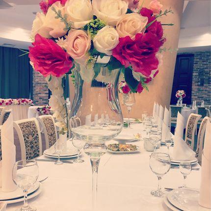 Композиции на столы гостей