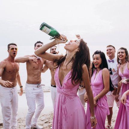 Организация свадьбы в приватном пляже в Таиланде, от 10 до 30 гостей