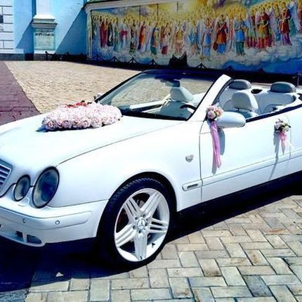 113 Аренда Mercedes W208 clk кабриолет прокат