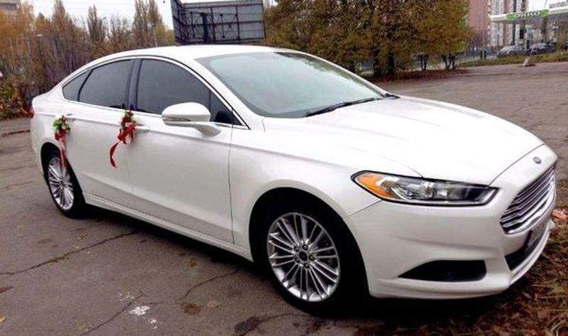 180 Ford Mondeo белый аренда