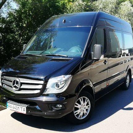 276 Микроавтобус Mercedes Sprinter черный VIP