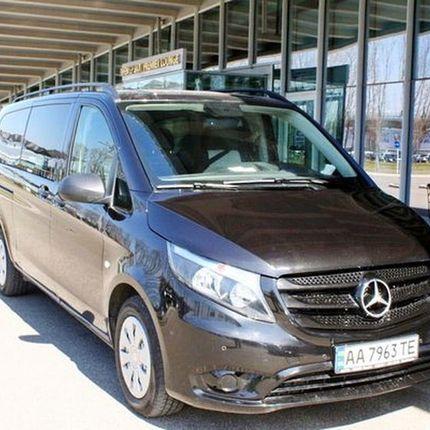 279 Микроавтобус Mercedes Vito 447 черный в аренду