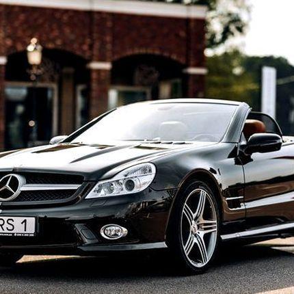071 Mercedes SL500 черный в аренду, 1 час
