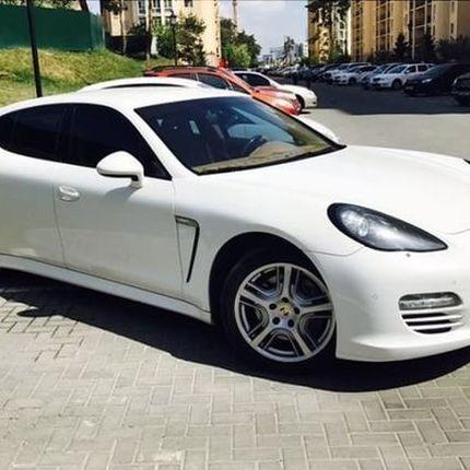 160 Porsche Panamera белая в аренду