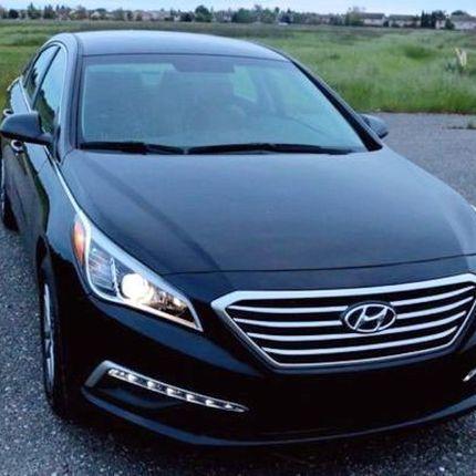 172 Hyundai Sonata чёрная в аренду