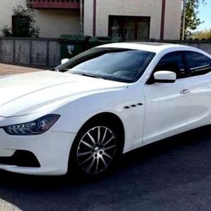 385 Maserati ghibli sQ4 белый в аренду