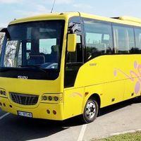 327 Автобус Isuzu желтый прокат, цена от