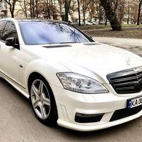 255 Mercedes 221 белый 2012 год прокат