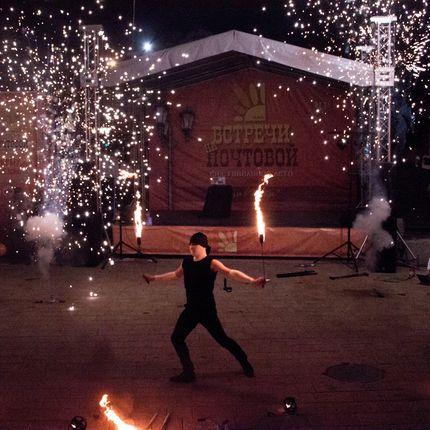 """""""Comatose"""" (optimum) - огненно-пиротехническое шоу"""